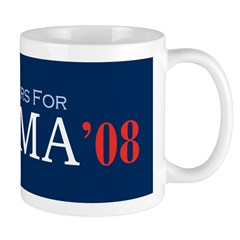 Firefighters For Obama '08 Coffee Mug