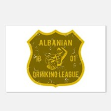 Albanian Drinking League Postcards (Package of 8)