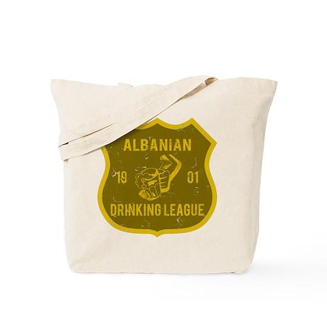Albanian Drinking League Tote Bag