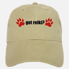 Got Reiki? Dog Pawprints Baseball Baseball Cap