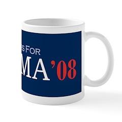 Bartenders For Obama '08 Coffee Mug