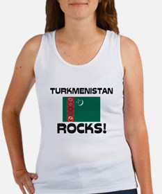 Turkmenistan Rocks! Women's Tank Top