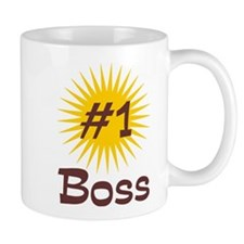 Number One Boss Mug