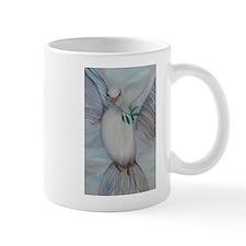 White Dove of Peace Mug