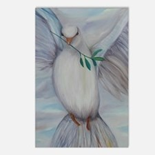 White Dove of Peace Postcards (Package of 8)