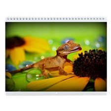 Cute Lizards Wall Calendar