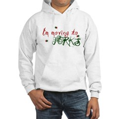 """I'm Moving to Forks"" Hooded Sweatshirt"