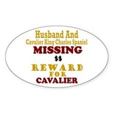 Husband & Cavalier King Charles Missing Decal