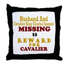 Husband & Cavalier King Charles Missing Throw Pill