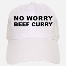 No Worry Beef Curry Baseball Baseball Cap