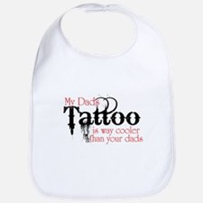 Dads tattoos cooler Baby Infant Toddle rBib