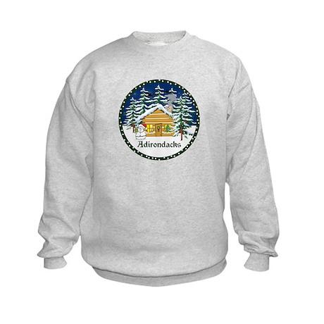 Adirondack Christmas Kids Sweatshirt