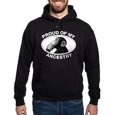 Proud of my Ancestry Chimp Hoodie