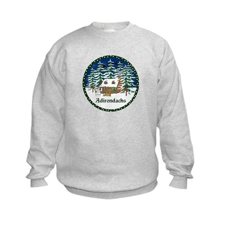 An Adirondack Christmas Kids Sweatshirt