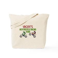Vincent's Motorcycle Racing Tote Bag