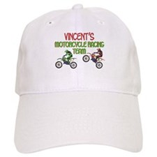 Vincent's Motorcycle Racing Baseball Cap
