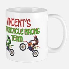 Vincent's Motorcycle Racing Mug