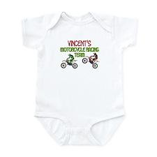 Vincent's Motorcycle Racing Infant Bodysuit