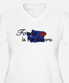 Forks is for Lovers (FRONT DE T-Shirt