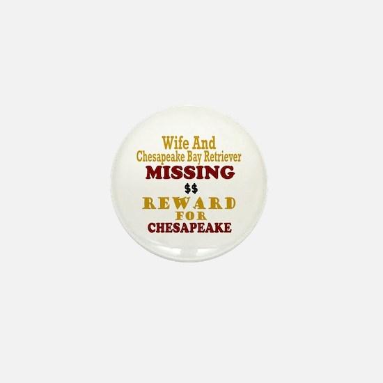 Wife & Chesapeake Bay Retriever Missing Mini Butto