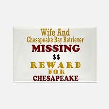 Wife & Chesapeake Bay Retriever Missing Rectangle