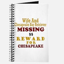 Wife & Chesapeake Bay Retriever Missing Journal