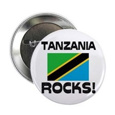 "Tanzania Rocks! 2.25"" Button (10 pack)"