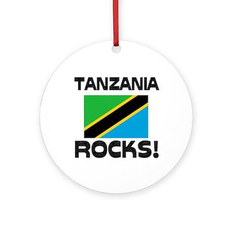 Tanzania Rocks! Ornament (Round)