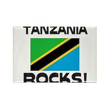 Tanzania Rocks! Rectangle Magnet