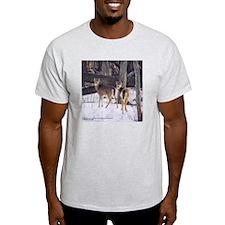 Winter Whitetail Deer T-Shirt