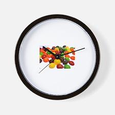 Funny Skittles Wall Clock