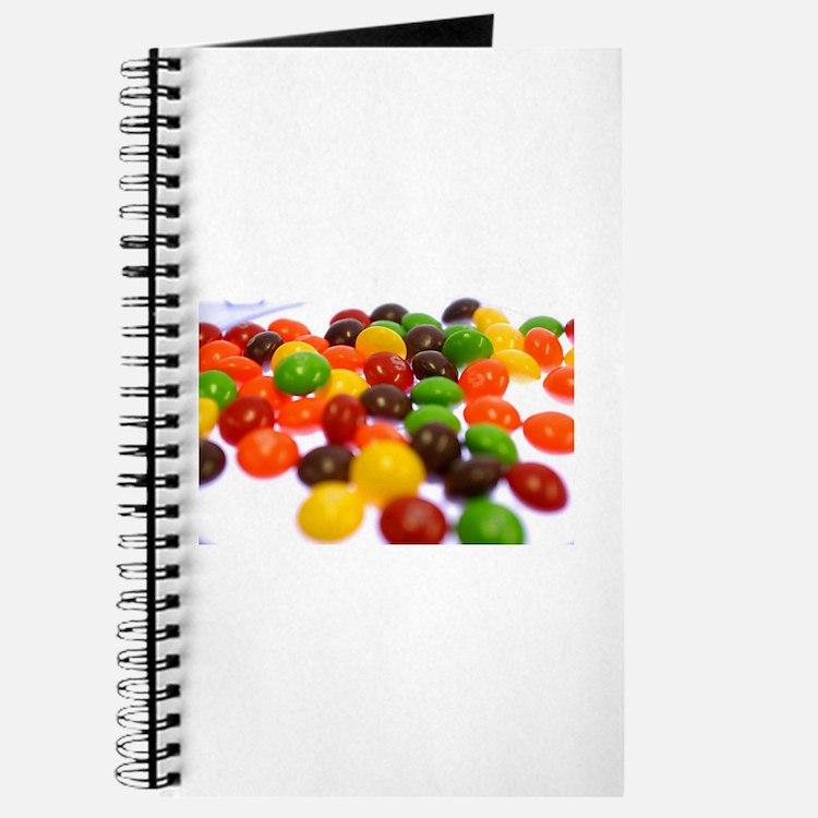 Cute Skittles Journal