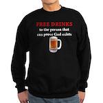Free Drinks Sweatshirt (dark)