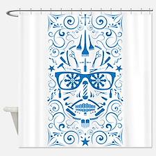 barber boi Shower Curtain
