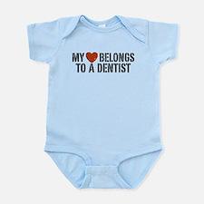 My Heart Belongs to a Dentist Onesie