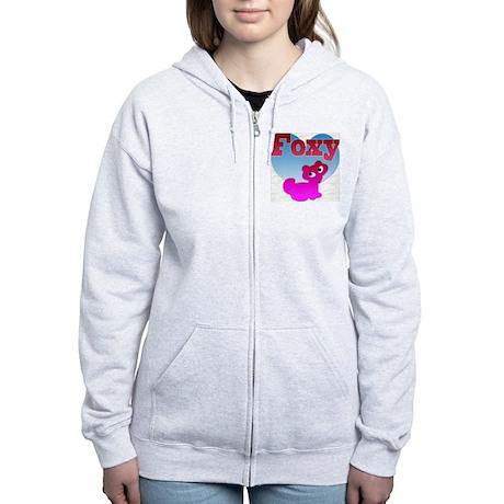 NOW ON SALE, Foxy Women's Zip Hoodie