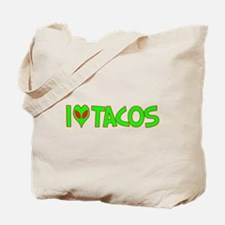 I Love-Alien Tacos Tote Bag