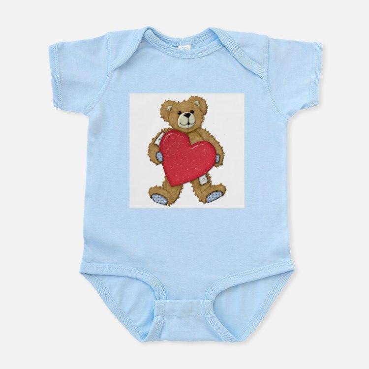 Teddy Bear Love Infant Creeper