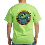 Official UFO Hunter Color Green T-Shirt