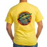 Official UFO Hunter Color Yellow T-Shirt