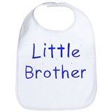 """little brother\"" Cotton Bibs"