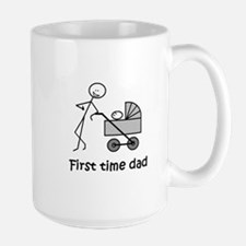 """First time dad"" Lg. Mug"