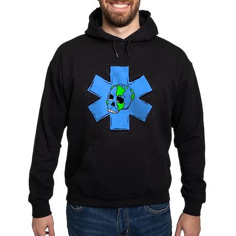 EMS Star Of Life Skull Hoodie (dark)