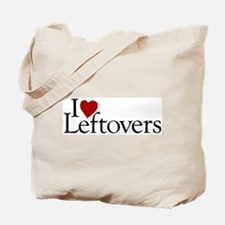 I Love Leftovers Tote Bag