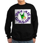 Bad Ass Grandpa Sweatshirt (dark)