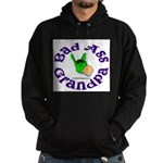 Bad Ass Grandpa Hoodie (dark)