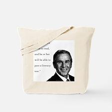 Bushish Stupid Quote Tote Bag