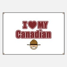 Cute Canada day Banner