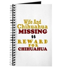 Wife & Chihuahua Missing Journal