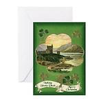 The Carey's Irish Castle Christmas Cards (10)